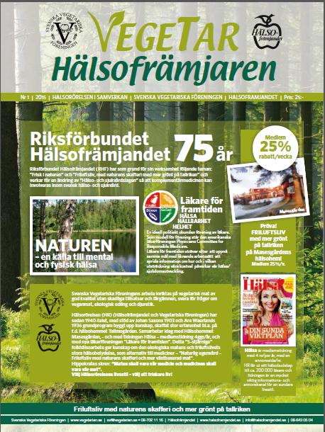 1-2015-Vegetaren/Hälsofrämjandet